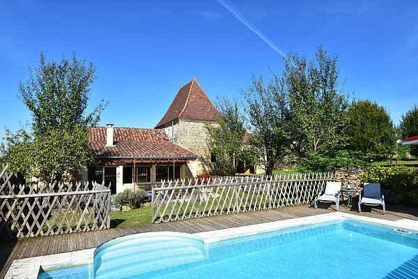 Casa de vacaciones en Saint-Crépin-et-Carlucet