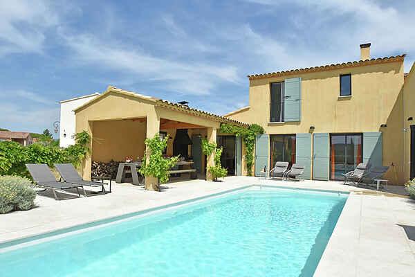 Villa i Entrechaux
