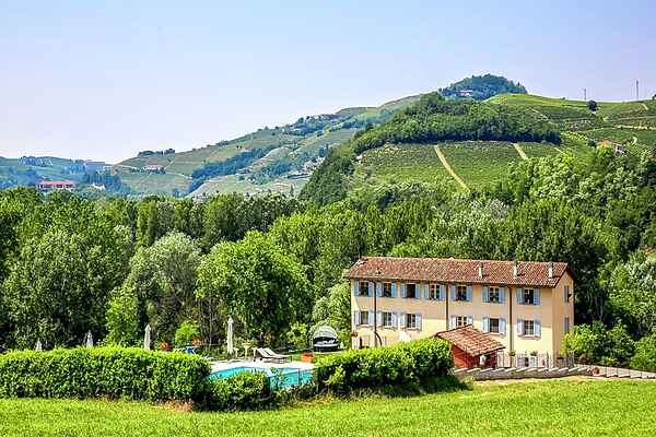 Herregård i Santo Stefano Belbo