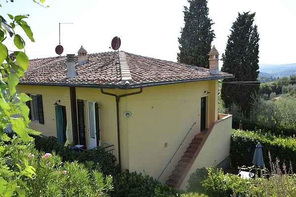 Gårdhus i Gavignano