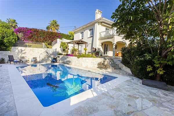 Villa nær stranden i Marbella