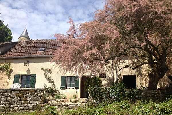 Gårdhus i Nièvre