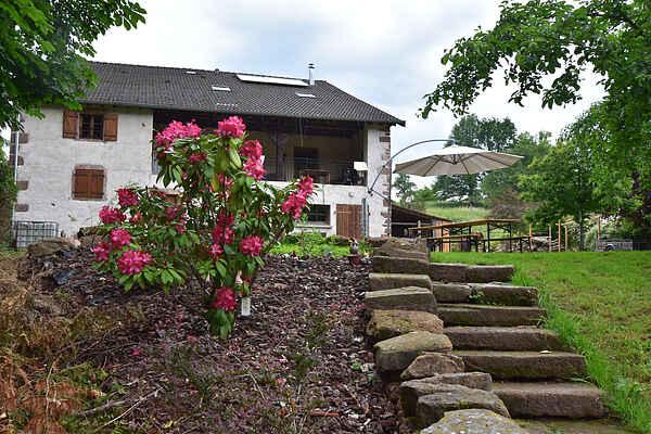 Gårdhus i Saint-Dié-des-Vosges