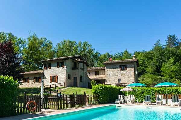 Farm house in Gubbio