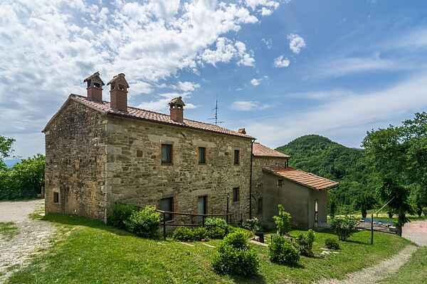 Gårdhus i Sestino