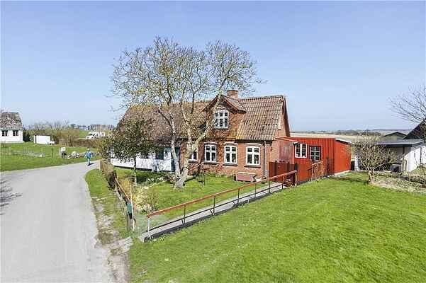 Ferienhaus auf Møn