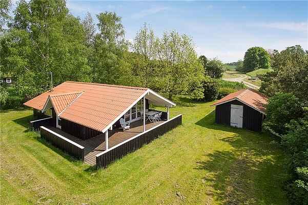 Ferienhaus in Råbylille