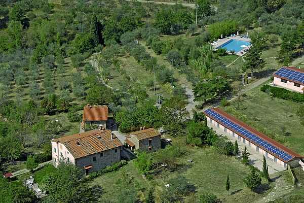 Gårdhus i Castelfranco di Sopra