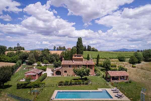 Villa i Lucignano