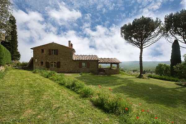 Gårdhus i Lucignano