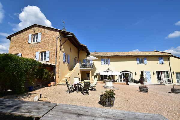 Herregård i La Chapelle-de-Guinchay