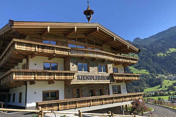 Gårdhus i Schwendau