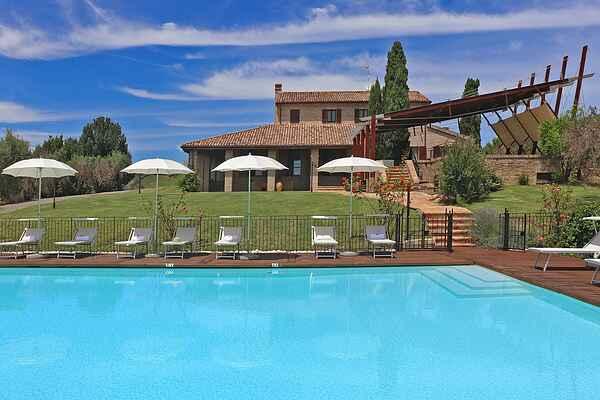 Villa på San Costanzo
