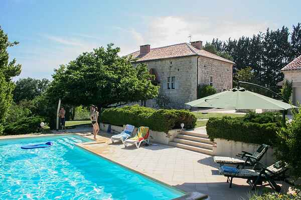Villa i Saint-Caprais-de-Lerm