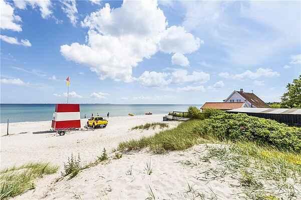 Sommerhus ved Saksild Strand