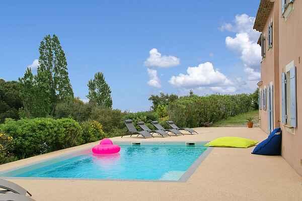 Villa i Cavalaire-sur-Mer