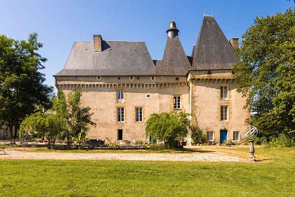 Castle i Chalais