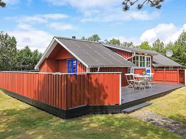 Vakantiehuis in Vorupør Strand