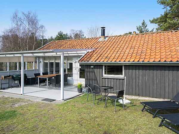Semesterbostad vid Snogebæk Strand