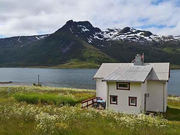 Semesterbostad på Lofoten