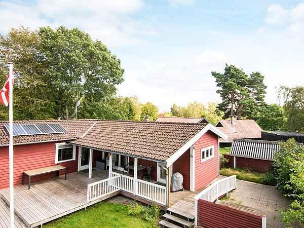 Sommerhus ved St. Sjørup Strand