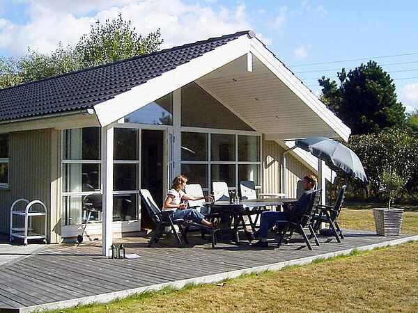 Sommerhus ved Hummingen Strand