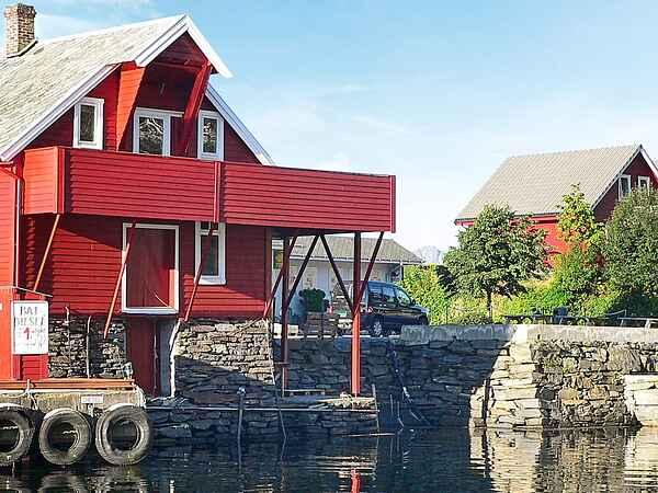 Maison de vacances au Sørbøvågen