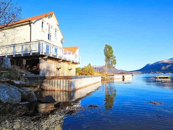 Casa de vacaciones en Gurskøy