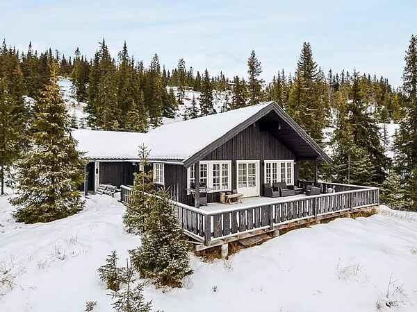 Ferienhaus in Kvitfjell