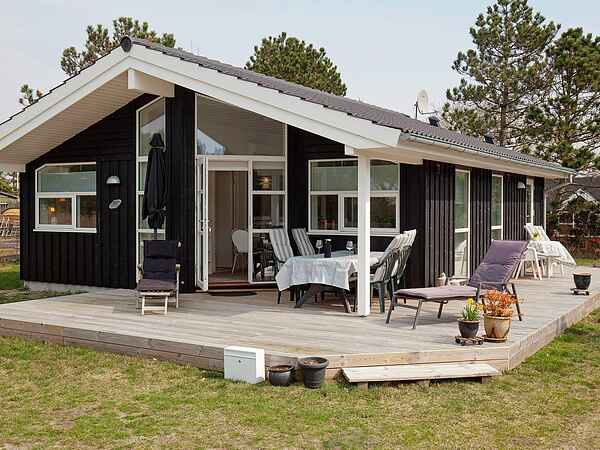 Sommerhus ved Stillinge Strand