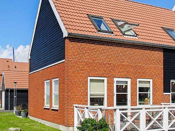 Sommerhus i Feriecenter Klinthom Marinapark Møn