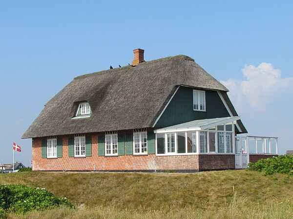Sommerhus ved Rindby Strand