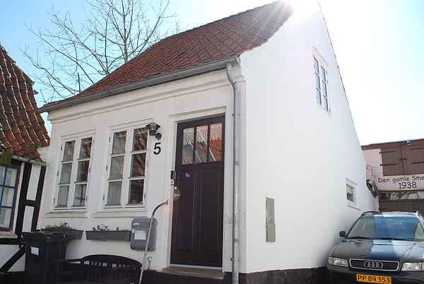 Romantisk  Byhus i Centrum af Sønderborg på Als