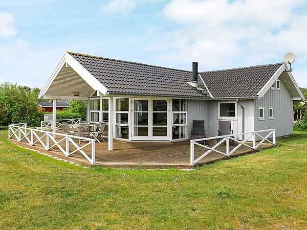 Sommerhus ved Gjellerodde Strand