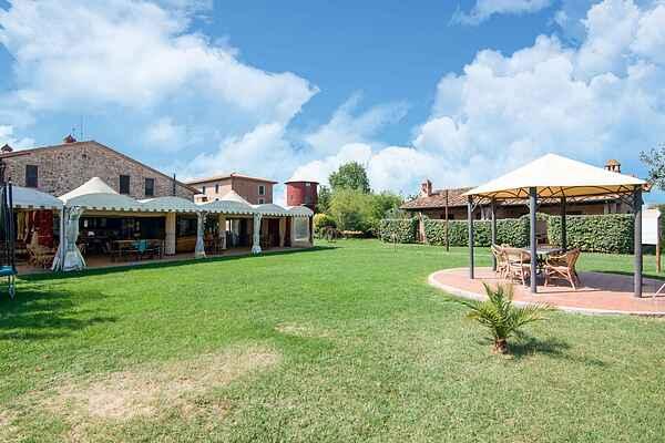 Gårdshus i Pucciarelli