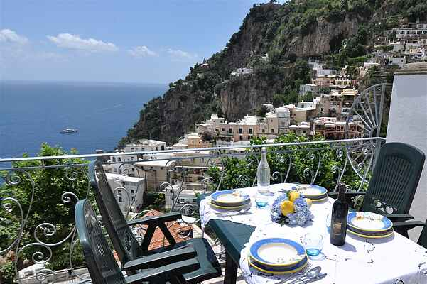 Positano, you will be in the heart of picturesque