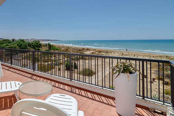 Amelia, Villa am Meer mit Blick auf den Strand