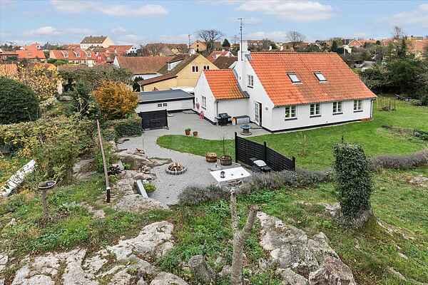 Idyllisk ferie i Svaneke på Bornholm  til børnefamilier.