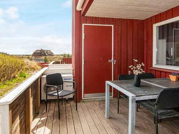 Casa de vacaciones en Henne Strand