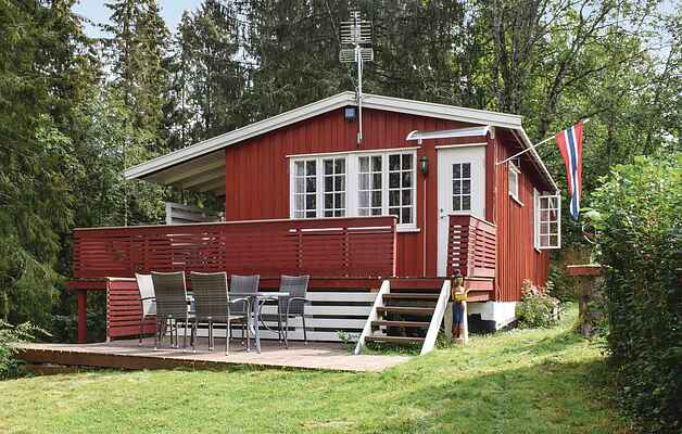 Holiday home in Trøgstad Municipality