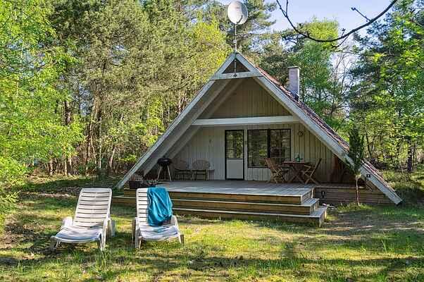 Sommerhus i Ellinge Lyng