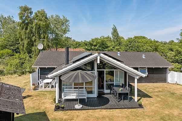 Sommerhus ved Skamlebæk Strand