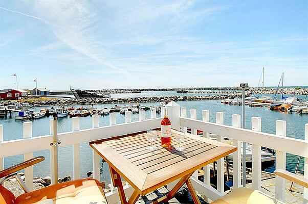Sommerhus i Hasle Marina