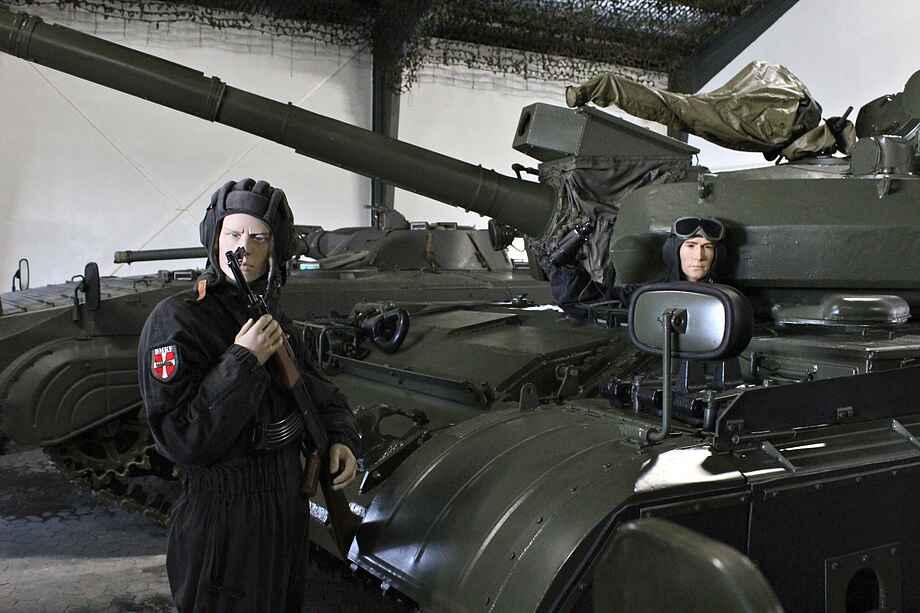 Panzermuseum east