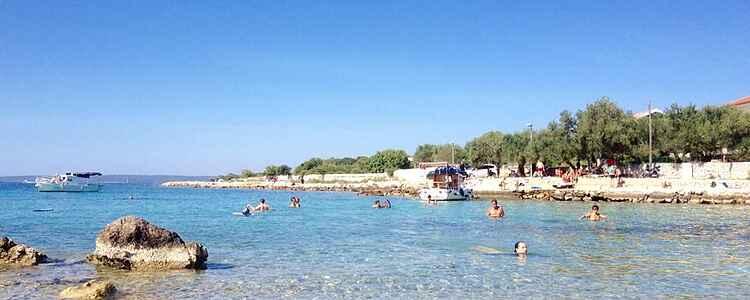 Härliga ön Pag i Kroatien