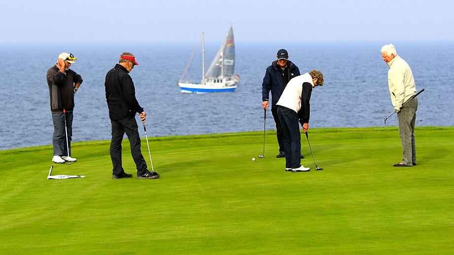 golf ærø