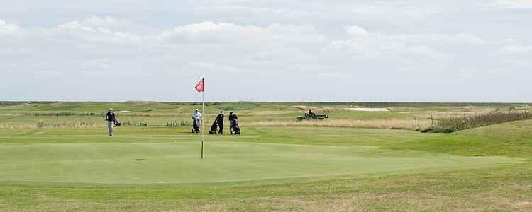 Links golf ved Vesterhavet