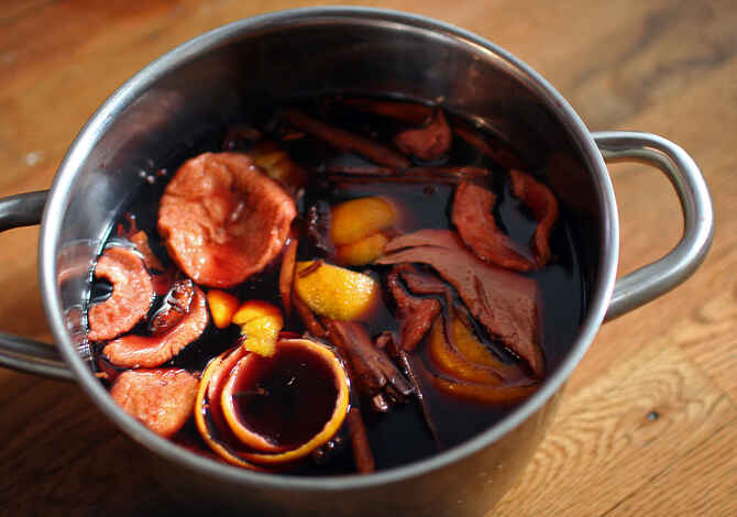 Glogg with spices