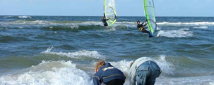 Vandsport på Vestkysten
