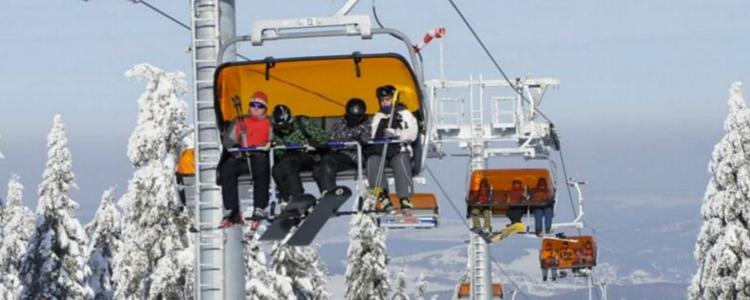 Tjekkiets nye skisportsted Klínovec